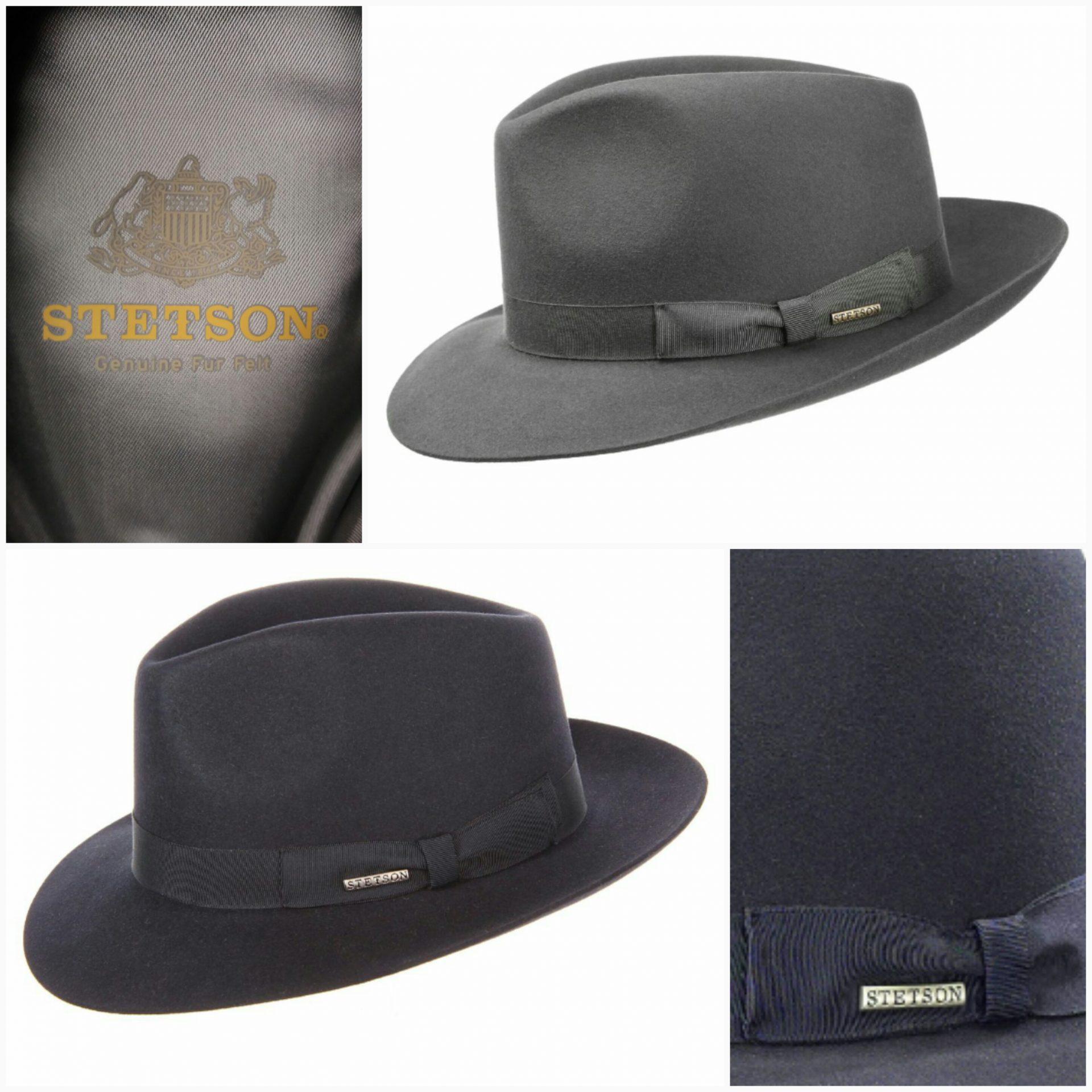 6ab0ae110 Stetson Penn Bogart fedora hat 129,- – H. Witting and Son