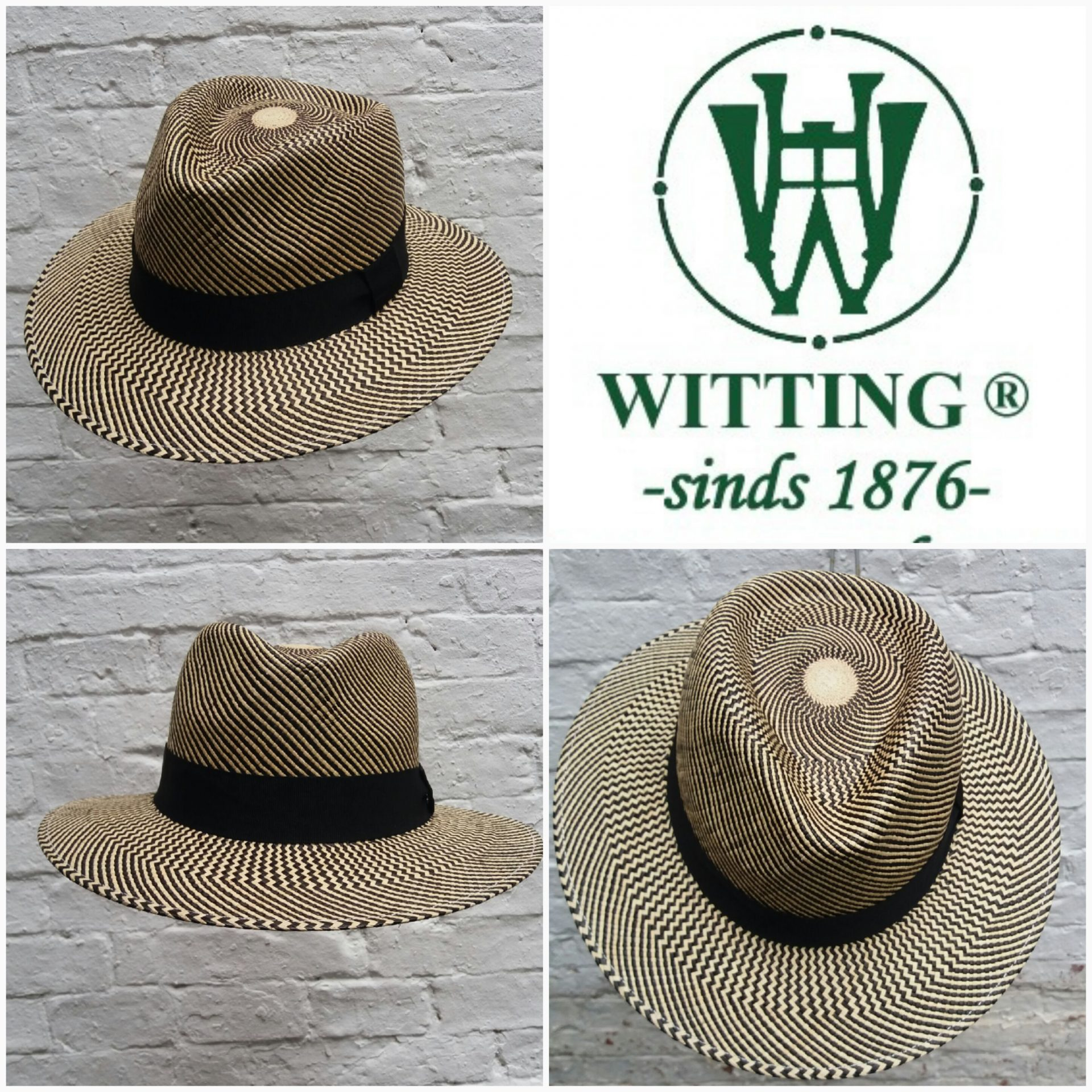 Collection h witting and son mens hats panamahat black stripes panamahats voltagebd Image collections